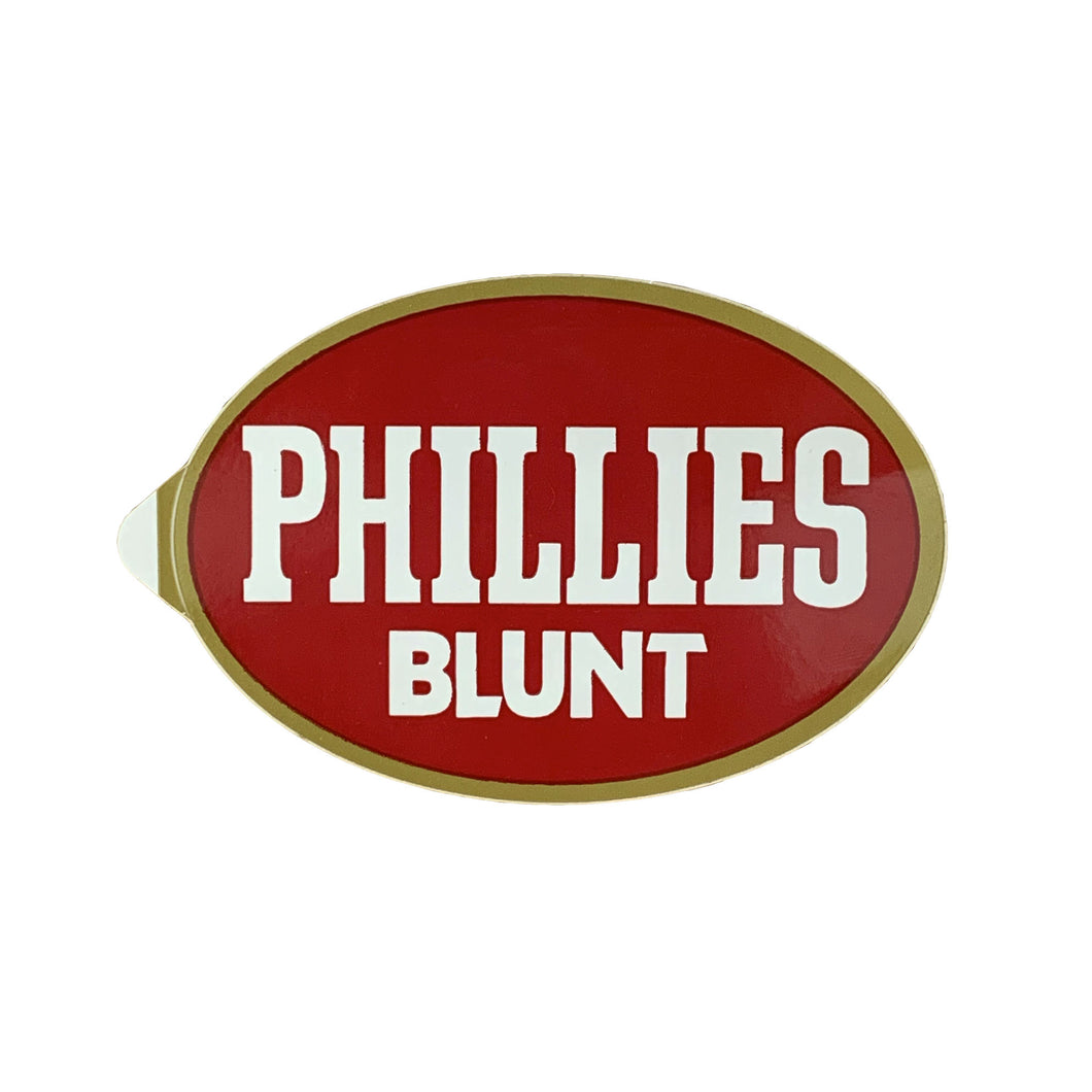Vintage Not From Concentrate Phillies Blunt Sticker