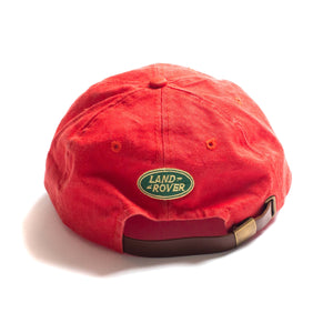 Vintage Land Rover Freelander Adjustable Hat Red