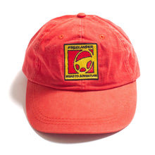 Load image into Gallery viewer, Vintage Land Rover Freelander Adjustable Hat Red