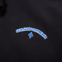 Load image into Gallery viewer, Sam James Logo Hoodie Black