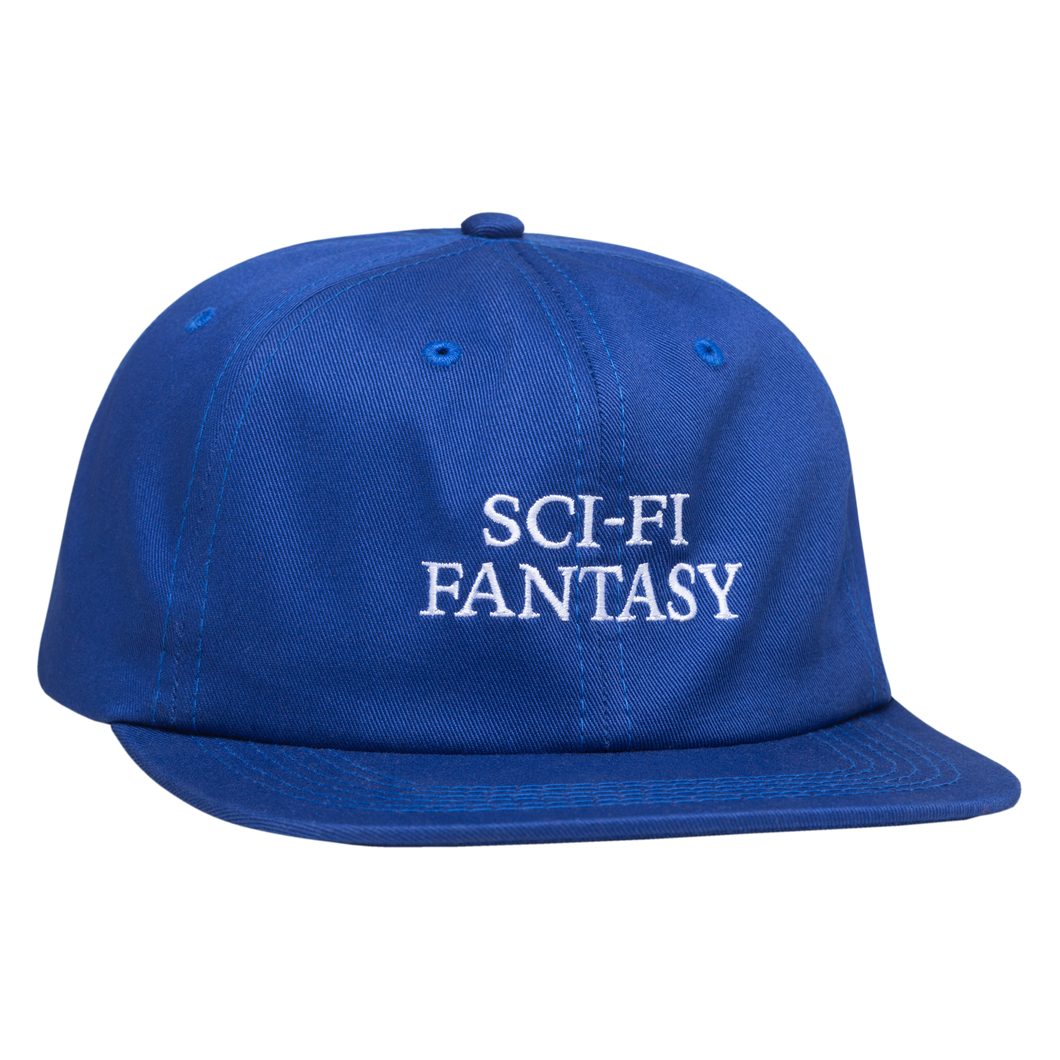 SCI-FI FANTASY LOGO HAT ROYAL BLUE
