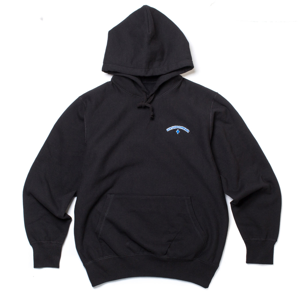 Sam James Logo Hoodie Black