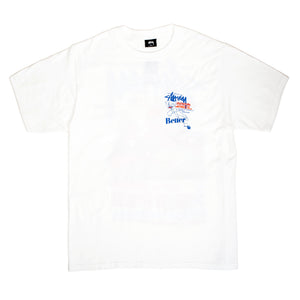 Better™Gift Shop / Stüssy Pool Hall Tee White