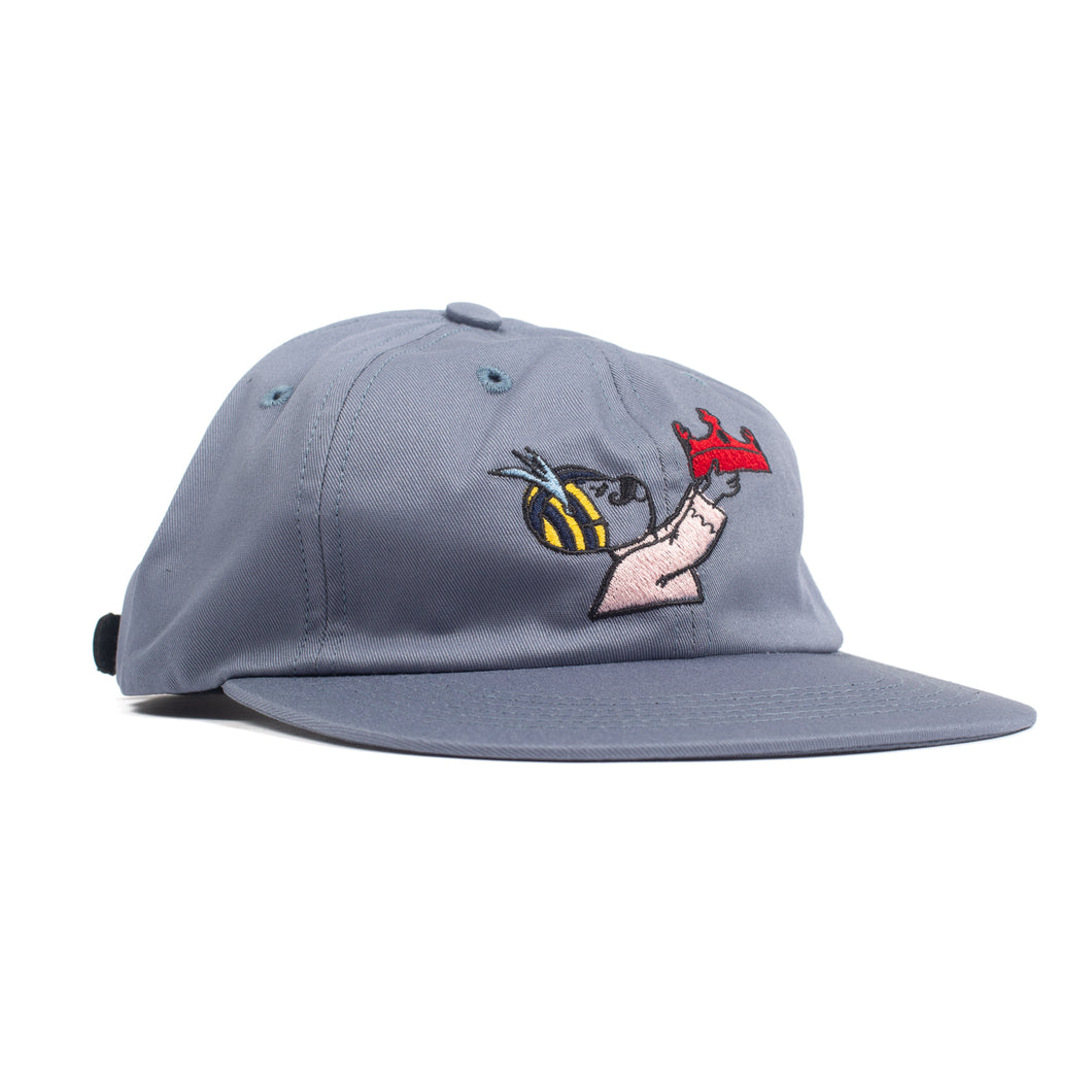 Bedlam - Crown Cap Slate Blue