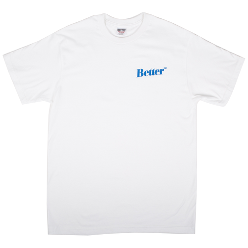 "Better™Gift Shop- White ""Standard Logo"" S/S Tee"