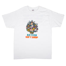 "Better™Gift Shop- White ""Flower Gift Shop"" S/S Tee"