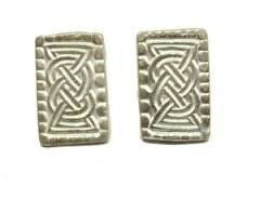 Sterling Silver Oseberg Cuff Links