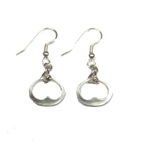 Sterling Silver Birka Earrings