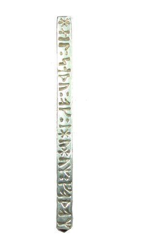 Sterling Silver Long Runic Good Health Good Spirits Viking Pendant