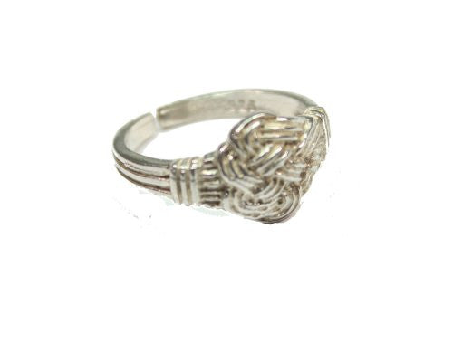Sterling Silver Adjustable Celtic Knot Ring
