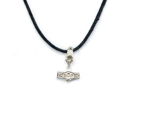 Sterling Silver Thor's Wolf Hammer Charm