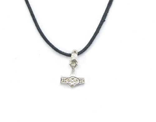 Sterling Silver Thor's Wolf Hammer pendant