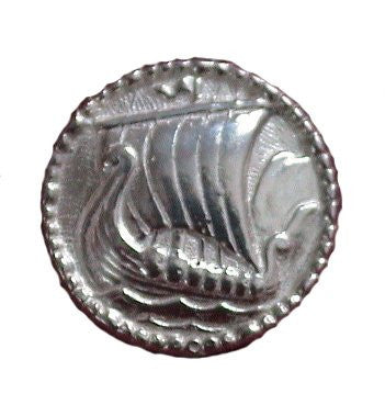 Sterling Silver Viking Ship Tie Tac