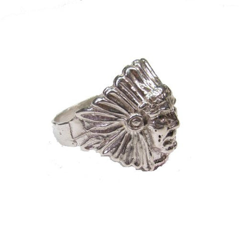 Sterling Silver Native American Ring