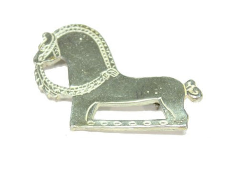 Sterling Silver Fjord Horse Pin