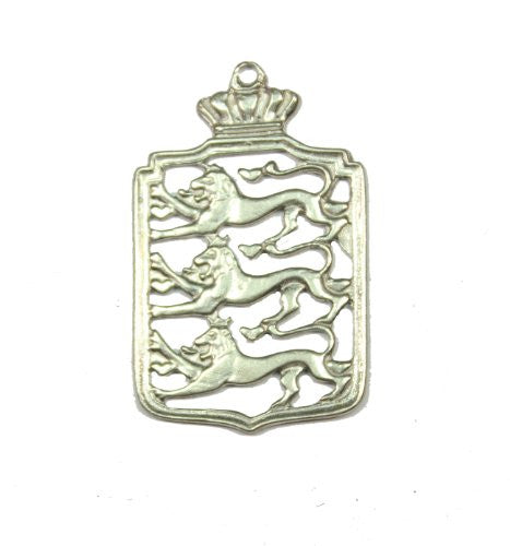 Sterling Siver Royal Pendant