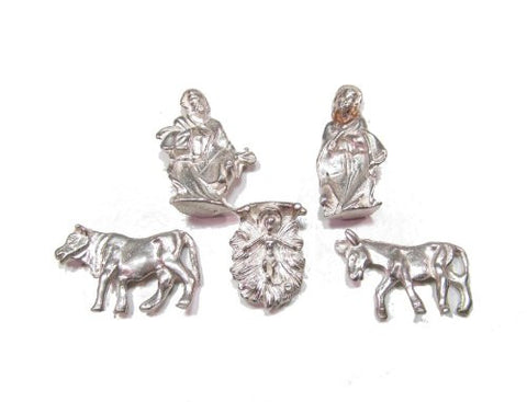 Sterling Silver Nativity Set