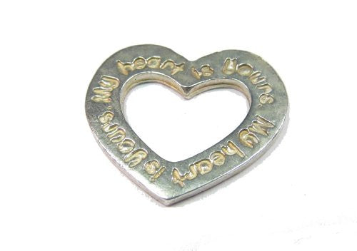 Sterling Silver My Heart is Yours Pendant