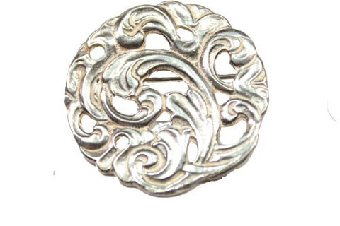 Sterling Silver Acanthus Pin