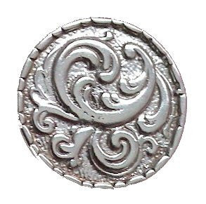 Sterling Silver Rosemaling Tie Tac
