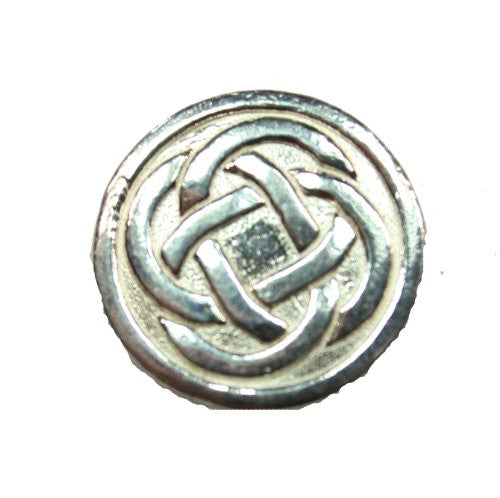 Sterling Silver Celtic Circular Knot Pendant