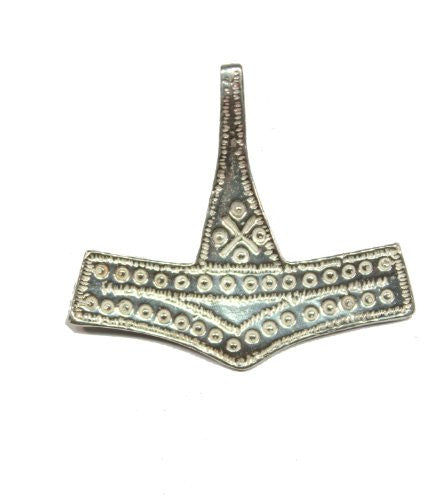 Sterling Silver Traditional Viking Romsdal Thor's Hammer