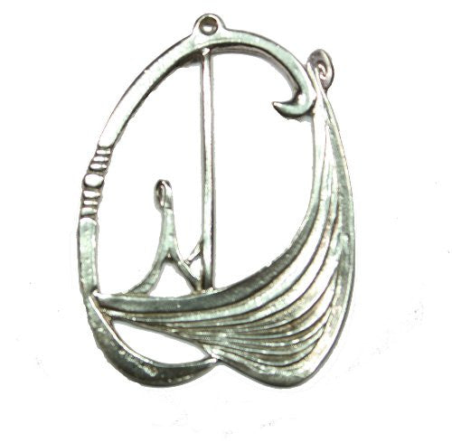 Sterling Silver Viking Pendant / Ornament