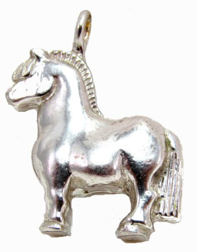 Sterling Silver Scandinavian Norse Traditional Fjord Horse