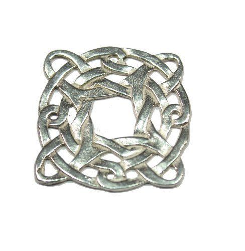Sterling Silver Celtic Shield Knot