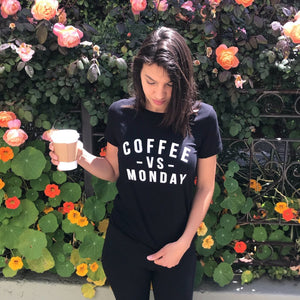 COFFEE VS. MONDAY