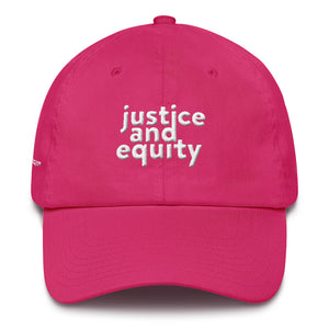 "Justice & Equity ""Dad Hat"" (Made In USA)"
