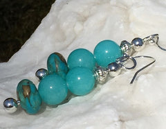 Brazilian Aquamarine Earrings