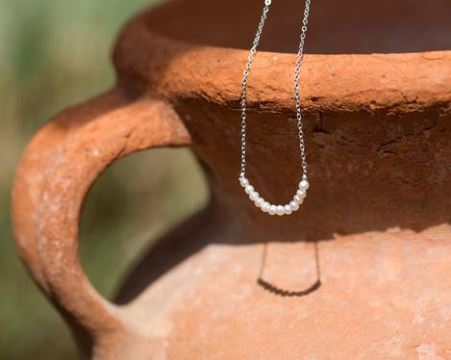 June Freshwater Pearl Birthstone Necklace