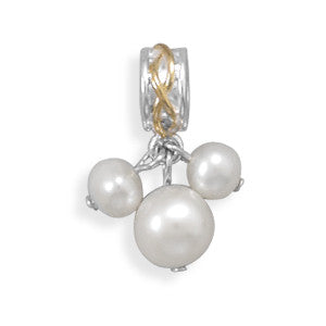 Two-Tone Freshwater Pearl Beads