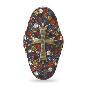 Renaissance Cross Ring