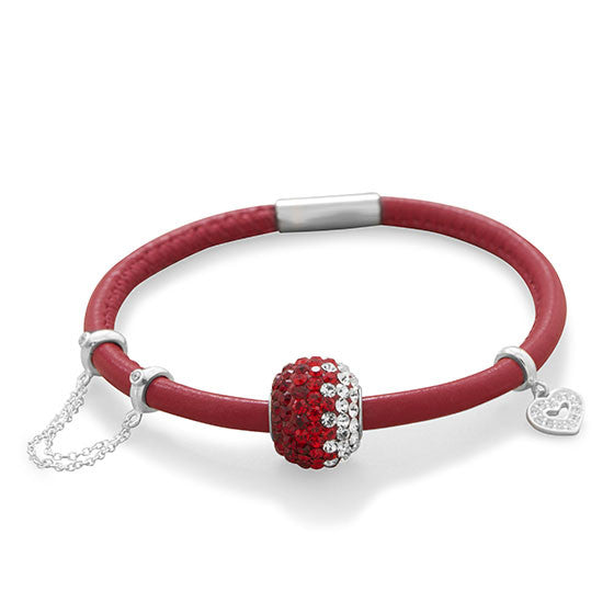 Single Wrap Italian Leather Bracelet