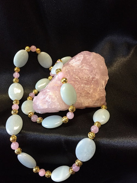 Queenly Amazonite Necklace