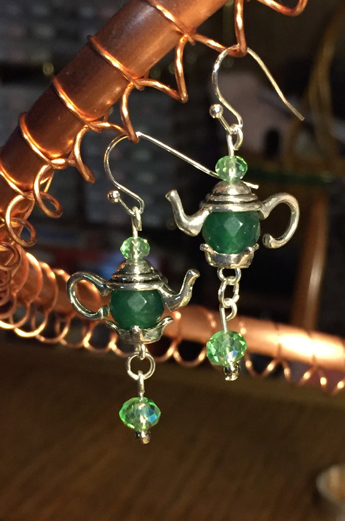 Cute Teapot Earrings