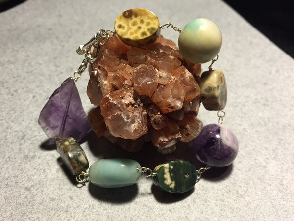 Earth's Treasures Toggle Bracelet