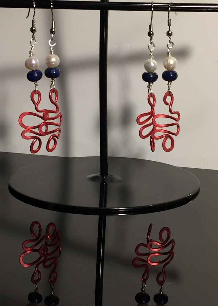 American Wave Earrings