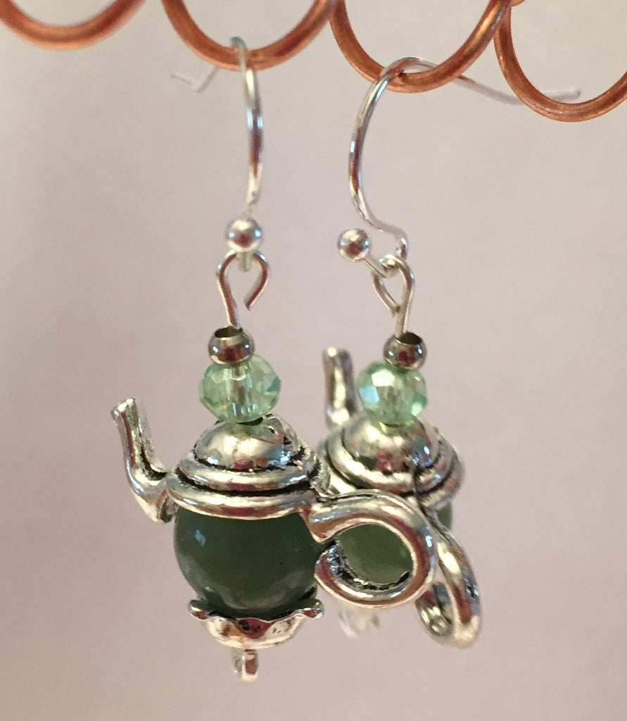 Teapot Gemstone Earrings - without Xtra Dangles