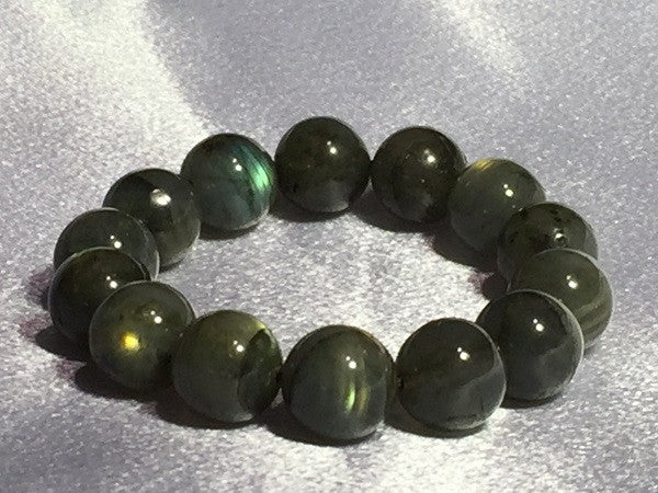 Flash of Fire Labradorite Bracelet