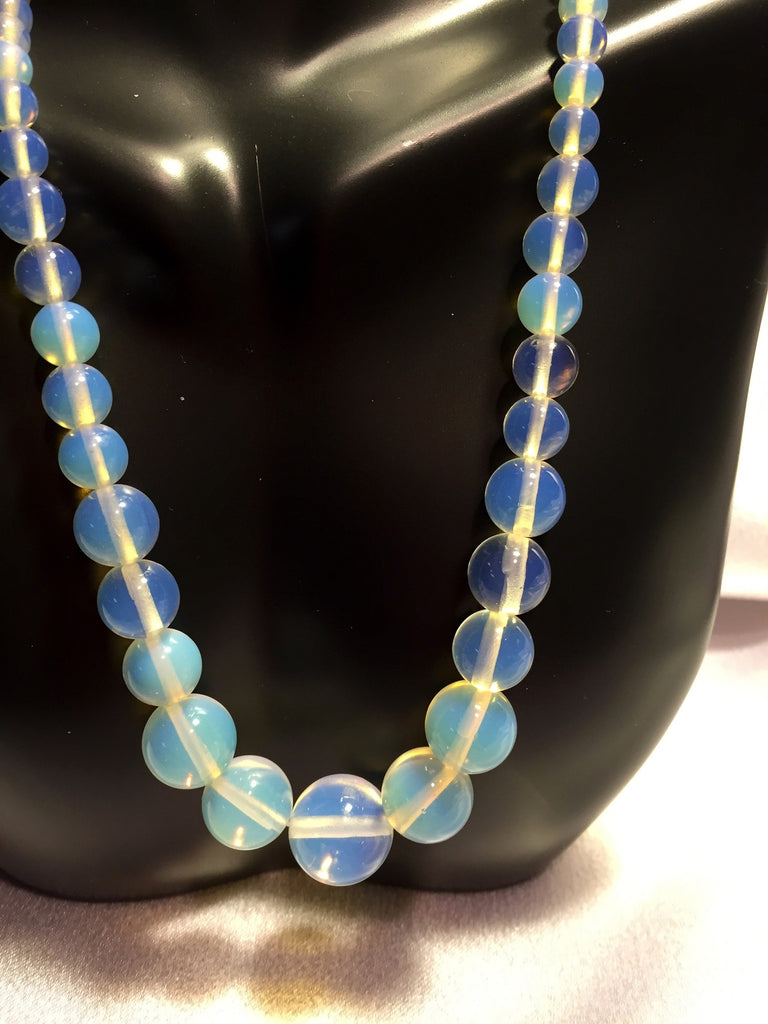 Opalite Necklace & Earring Set