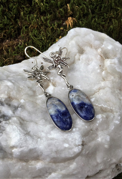 Fairy Fantasy Sodalite Earrings