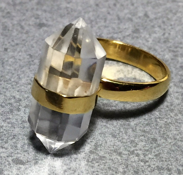 Crystal Point Ring