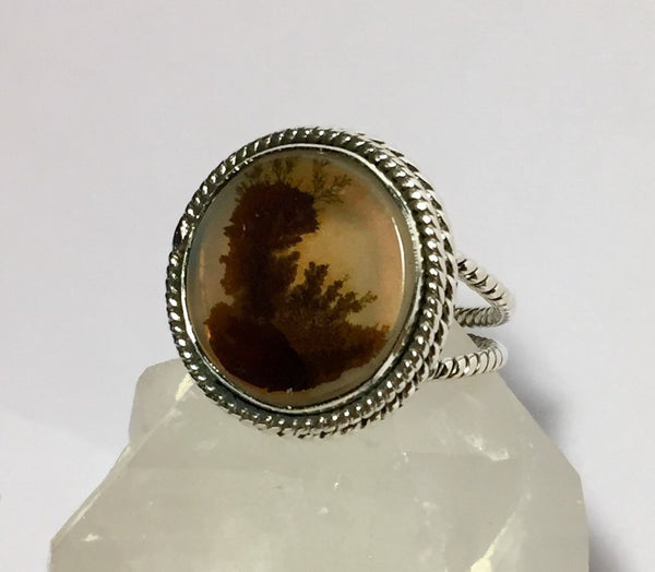 Woodland Dendrite Ring - Size 7.75