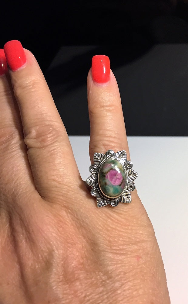 Roses in Bloom Ring - Size 6