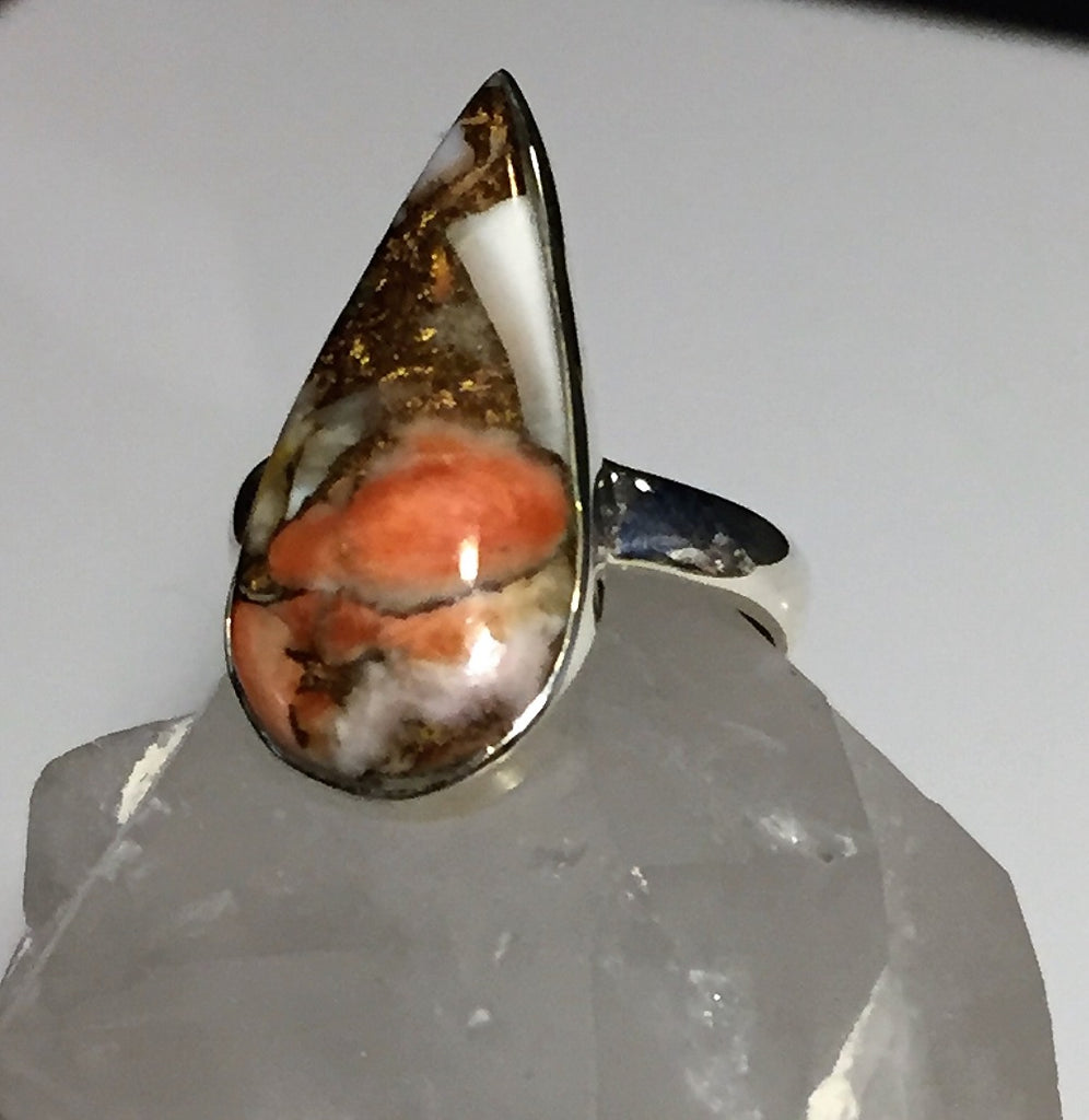Spiny Oyster Ring - Size 7