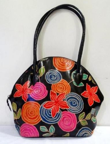 Shantiniketan Large Flowered Purse