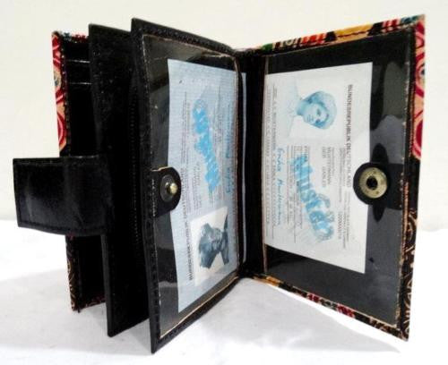Genuine 100% Leather Shantiniketan Handmade Indian Wallet